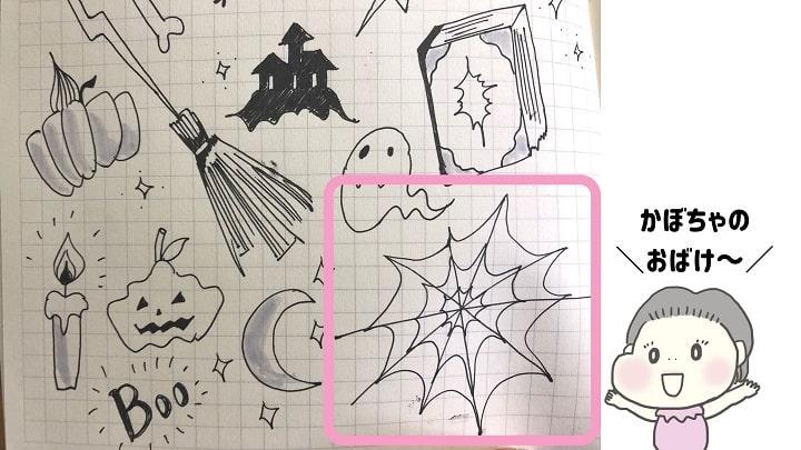 蜘蛛の巣,イラスト